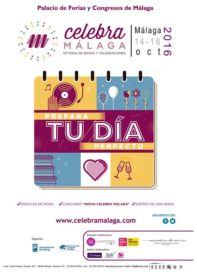 Un nuevo paso por Celebra Málaga 2016, en su 10º aniversario