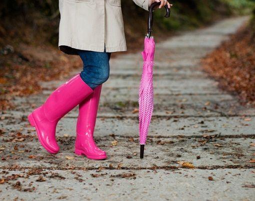 Días lluviosos, ¡no pierdas el estilo!