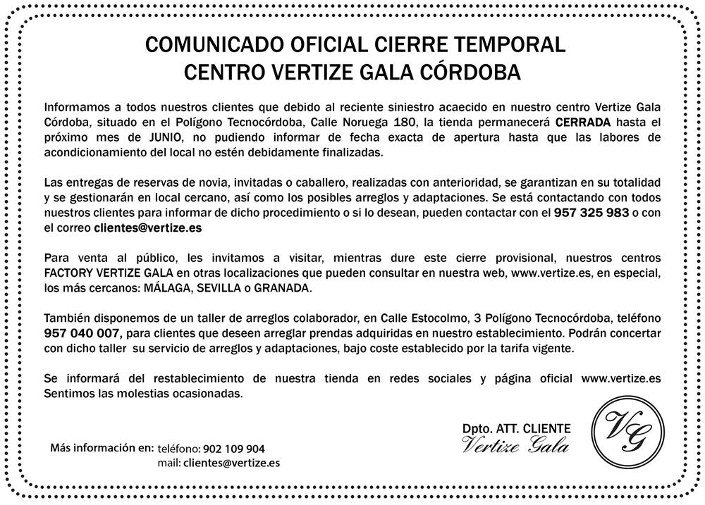 Vertize Gala Córdoba