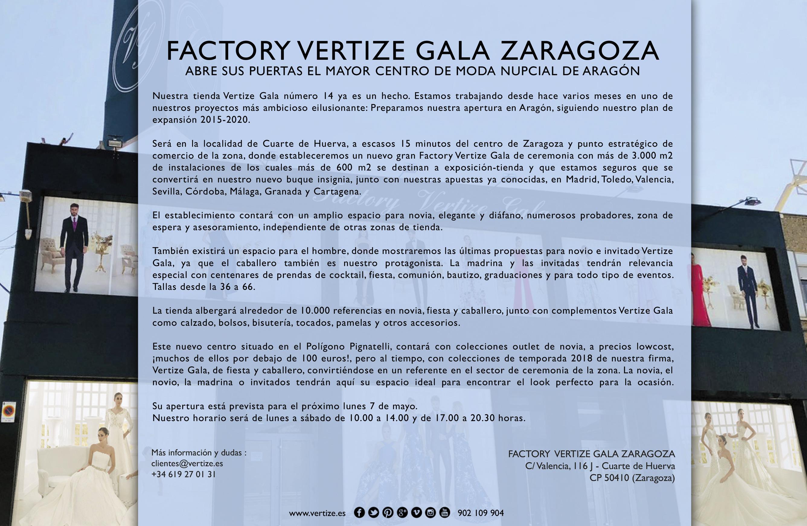 Descargas vertize gala for Apertura piscinas zaragoza 2017