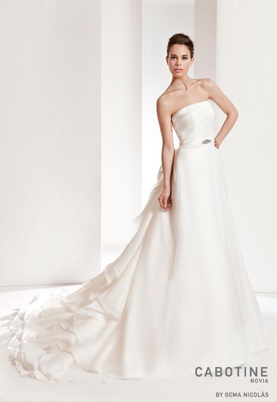 vestido de novia modelo beverly cabotine - vestido de novia
