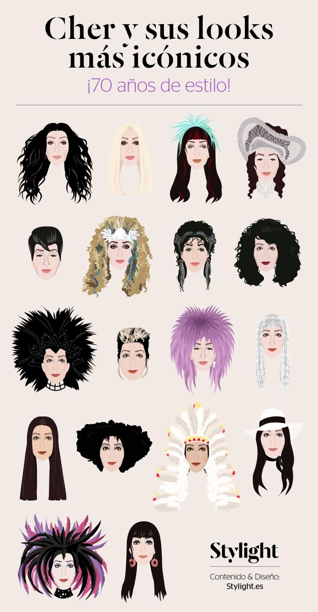 Cher, 70 años de estilo