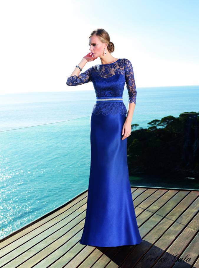 Vestido de Fiesta Colección Nati Jiménez 2015