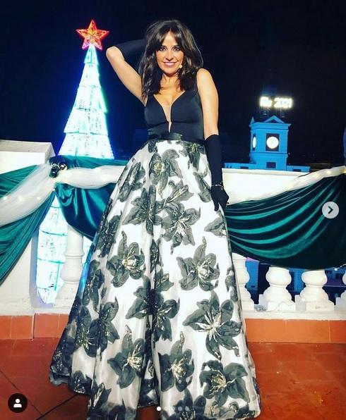 Carmen Alcayde (Telemadrid, Campanadas 2020)