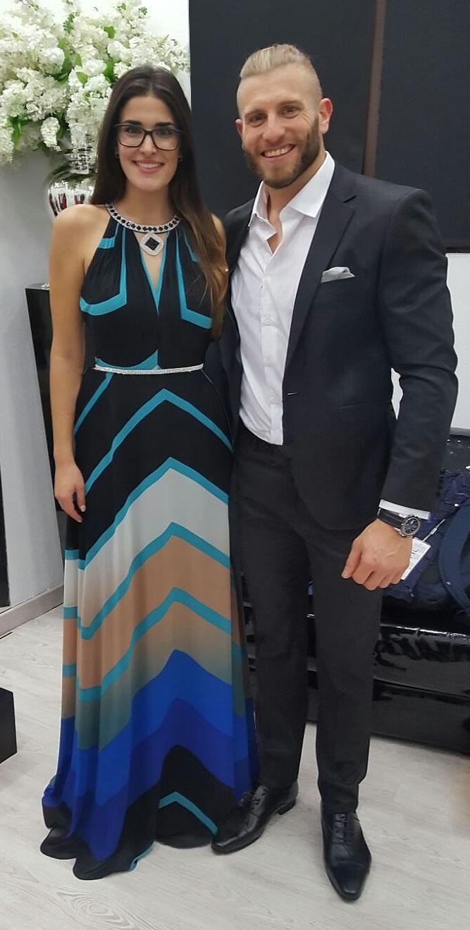 Lidia Torrent y Matías Roure